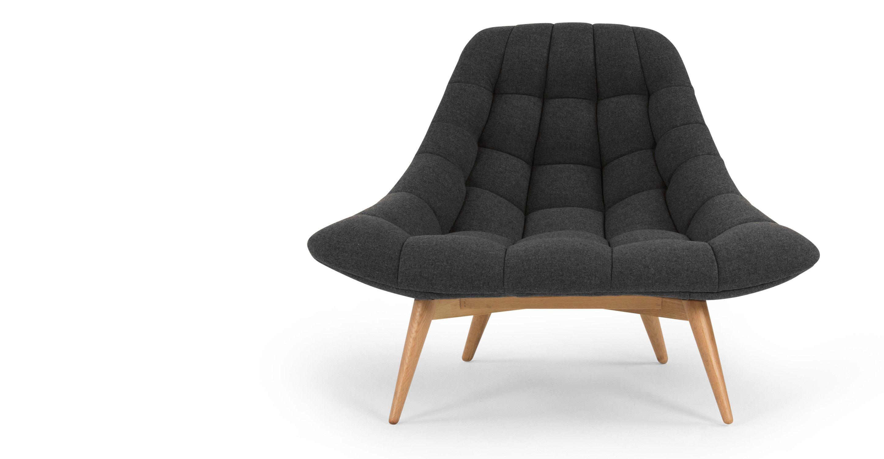 Schlafzimmer Sessel ~ Kolton loungesessel anthrazit anthrazit sessel und schlafzimmer