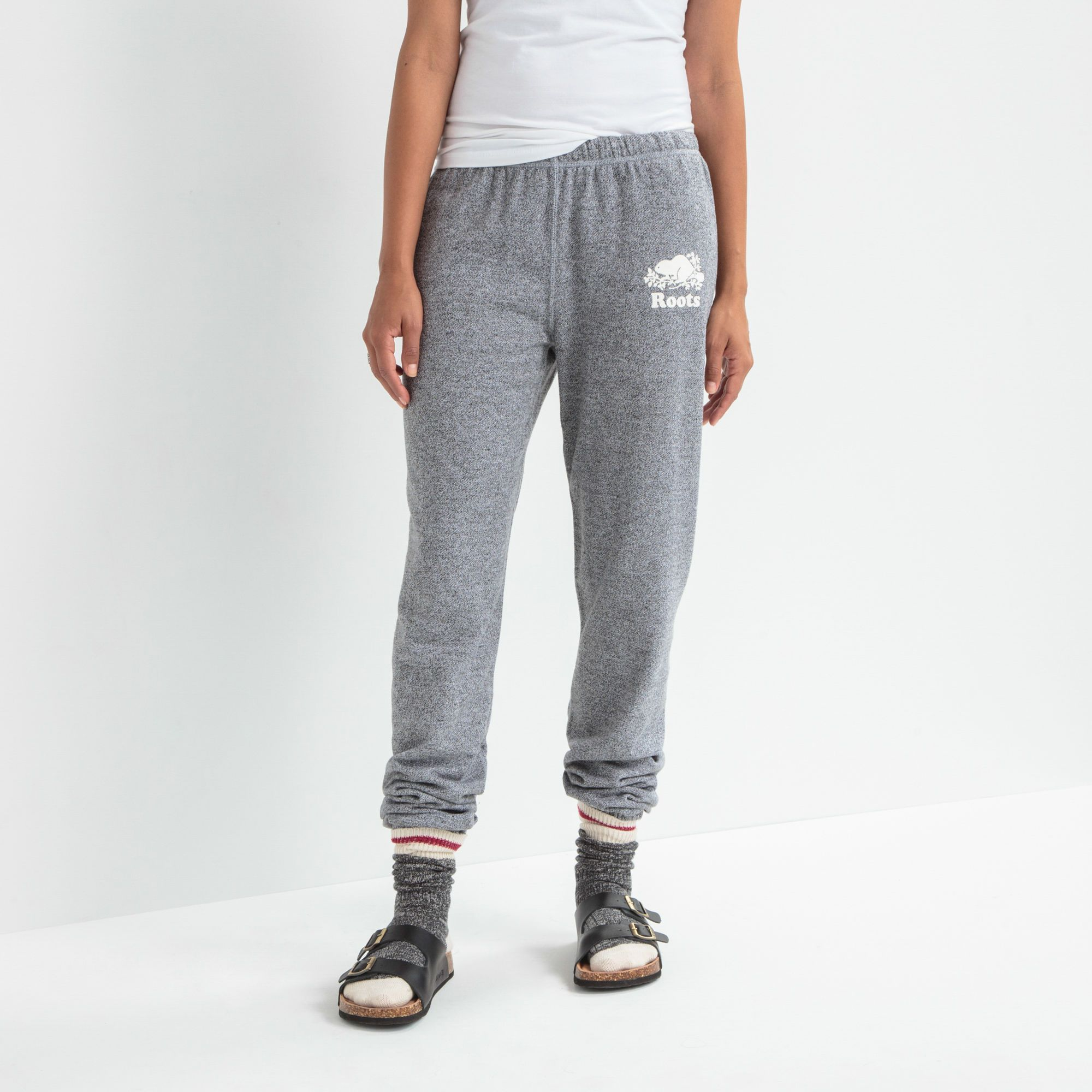 de744da96040a0 Roots Salt & Pepper Original Sweatpant | Women's Bottoms Sweatpants | Roots