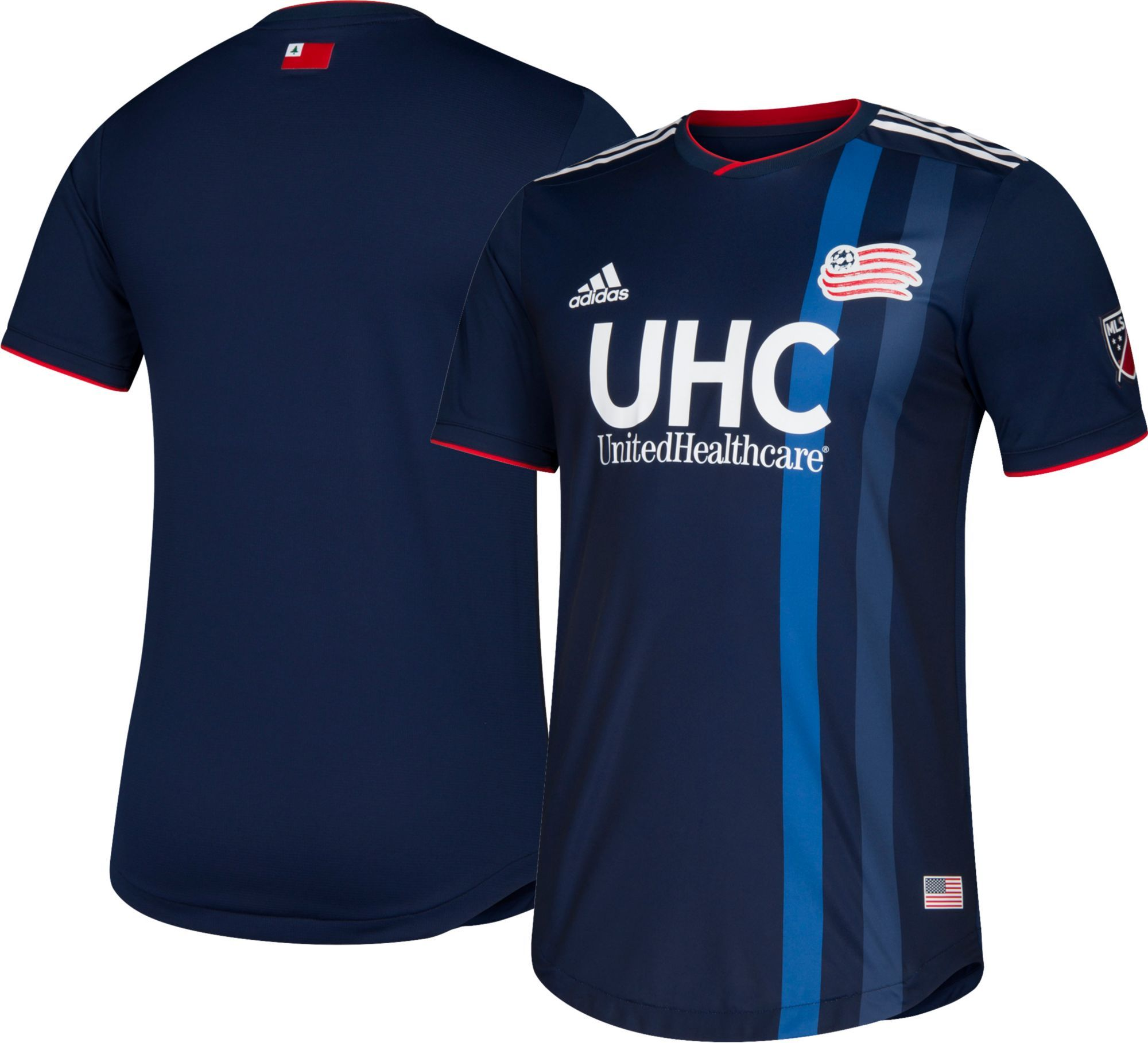 ce93b8698 adidas Men s New England Revolution Primary Authentic Jersey in 2018 ...