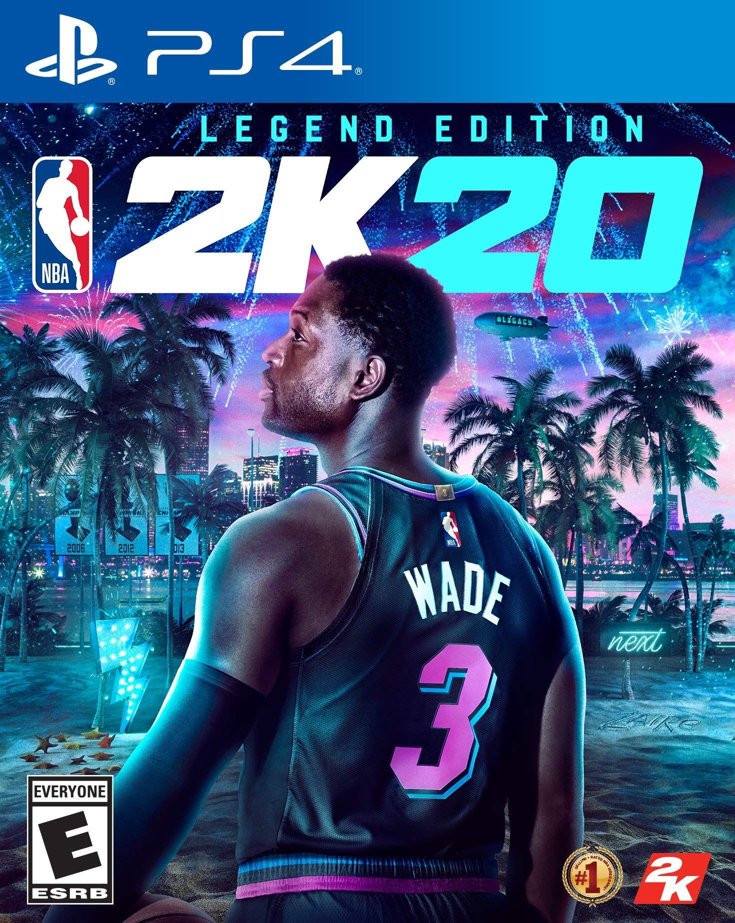 NBA 2K20 Legend Edition PlayStation 4 Ios games, Ps4