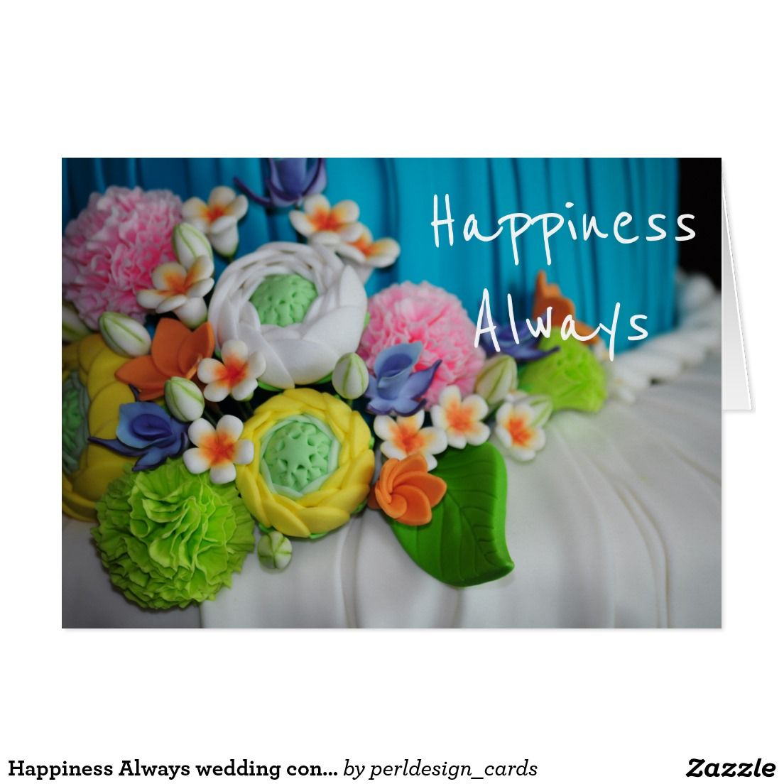 Happiness always wedding congratulations card wedding happiness always wedding congratulations greeting card m4hsunfo