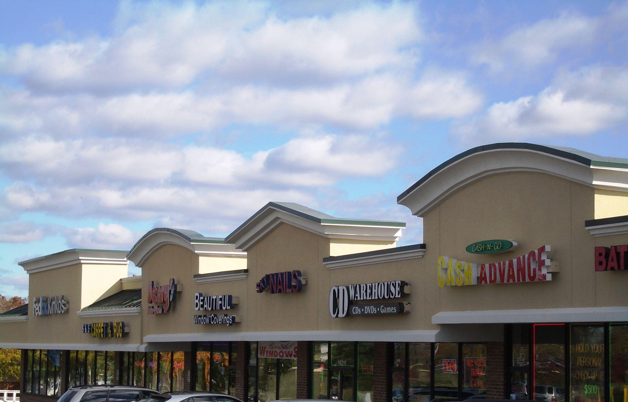 images of shopping center framing   Laurel Pond Shopping Center ...