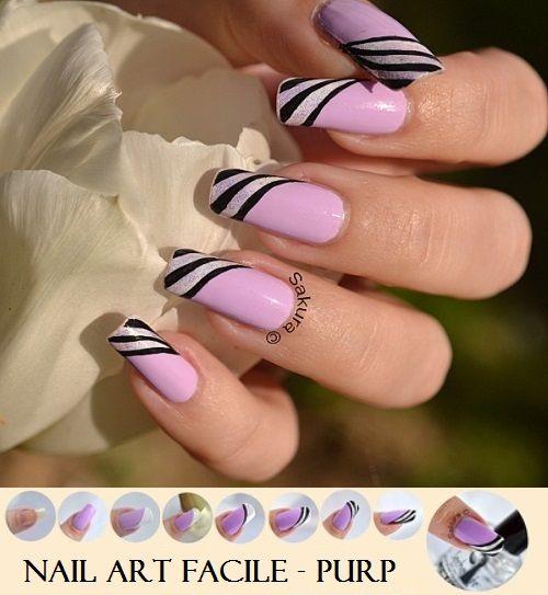 Nail Art Facile - Purp