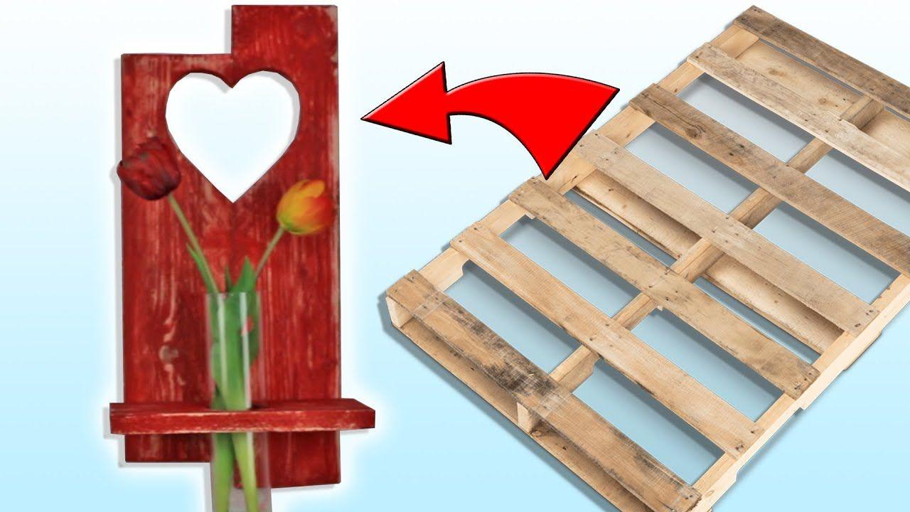 6 افكار ديكور باعادة تدوير بالتة خشبية اصنع بنفسك بأبسط التكاليف Youtube Decor Home Decor Kitchen