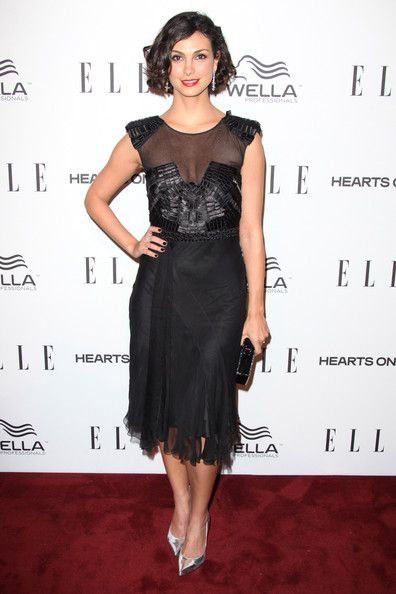 Morena Baccarin Little Black Dress Morena Baccarin Dresses