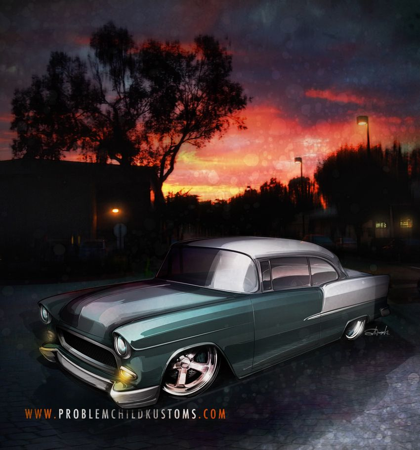 Custom Car Renderings Custom Cars Cars And Cars Toons