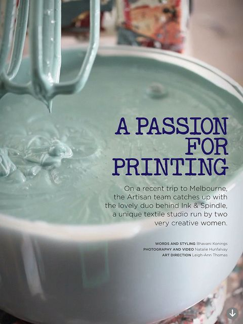 Artisan Magazine issue 4 by Ink & Spindle, via Flickr