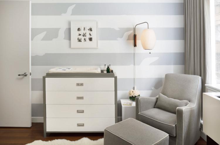 cuartos bebes color gris | decoración dormitorios infantiles ...