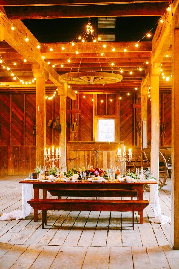 Barn Wedding Decorating Ideas
