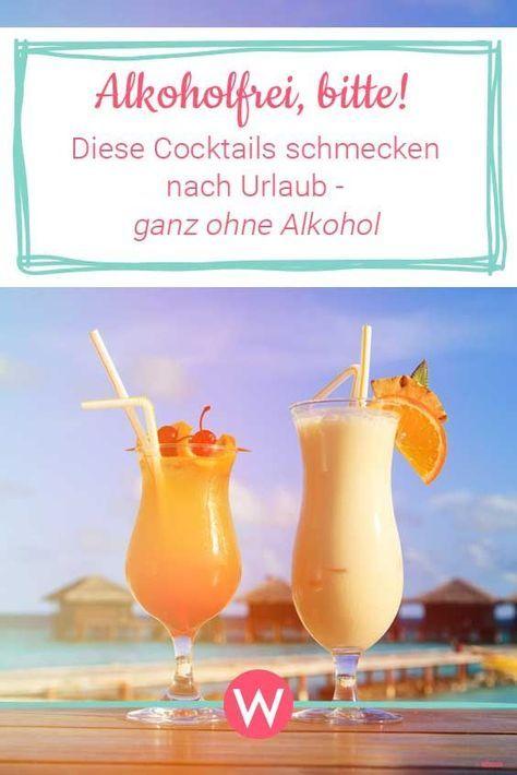 Alkoholfreie Cocktails: Erfrischend leckere Rezepte   Wunderweib