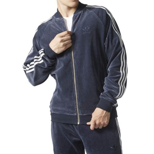 Adidas Men's Originals Velour Superstar Jacket AY9222