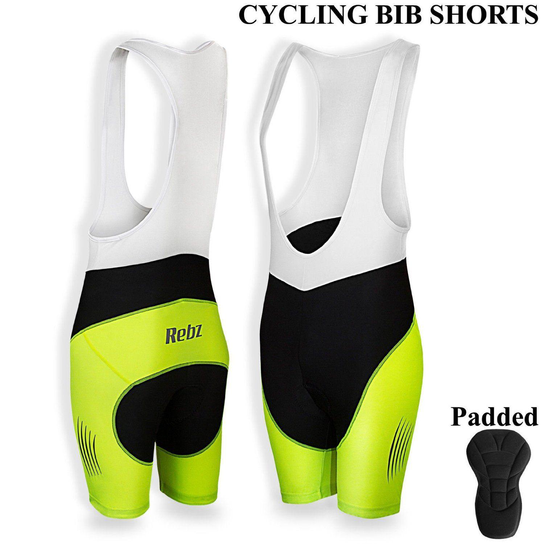 Mens Cycling Bib Shorts High Density 3d Pad Cycling Outdoor Tights