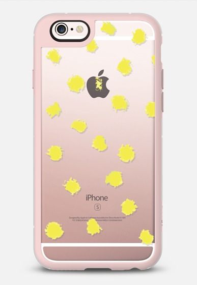 Chartreuse Dots - Brightly Spring iPhone 6s case by Allyson Johnson   Casetify