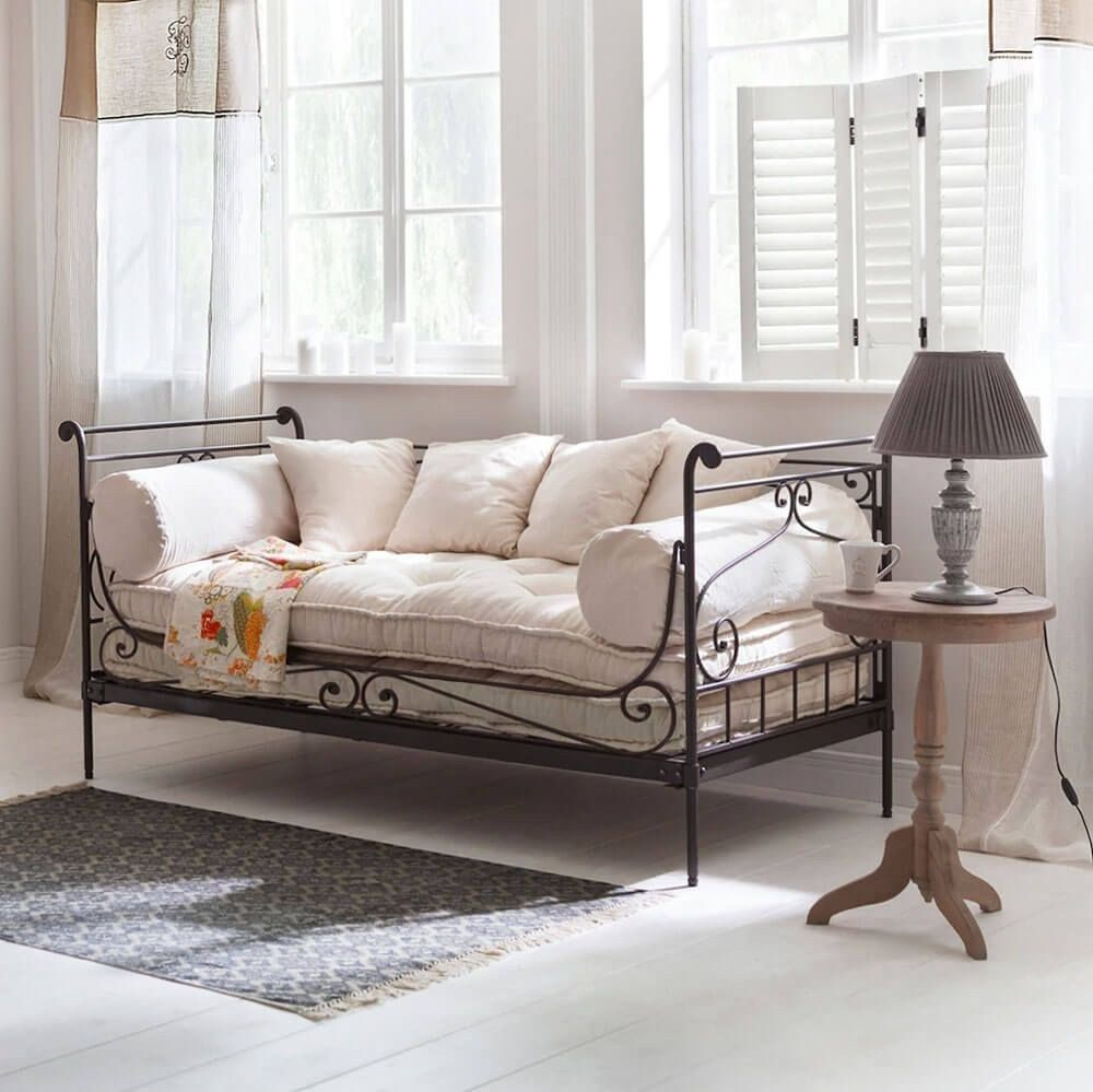 53 Wrought Iron Sofa Ideas Armchair Sofa Bed In Living Room