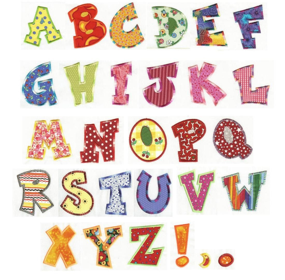 Fun alphabet applique machine embroidery font designs by juju fun alphabet applique machine embroidery font designs by juju spiritdancerdesigns Gallery