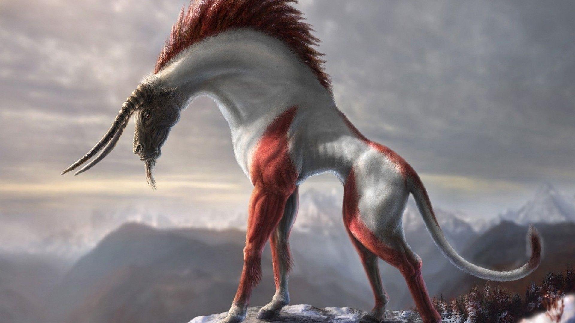 creature illustration in style pinterest fantasy creatures