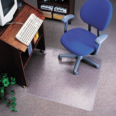 deflect-o EconoMat Chair Mat for Low Pile Carpeting