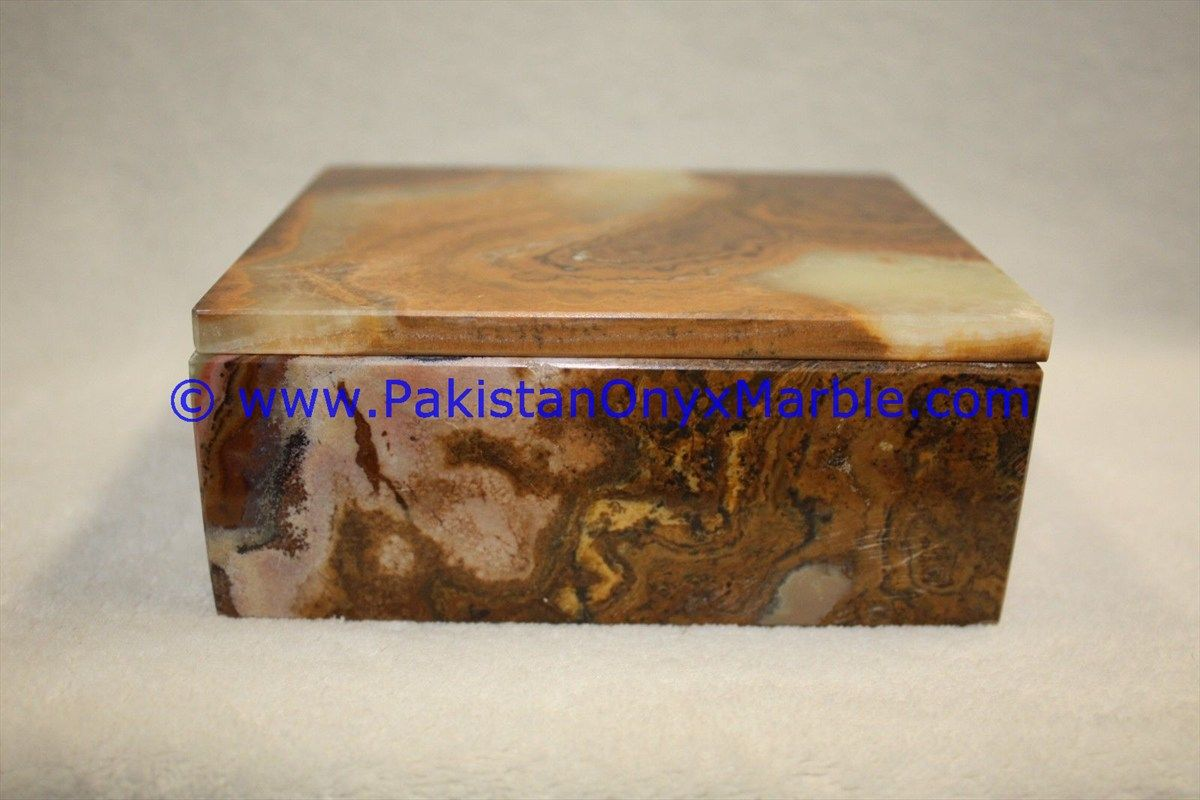 Pin by Pakistan Onyx Marble on ONYX BOXES MULTI BROWN