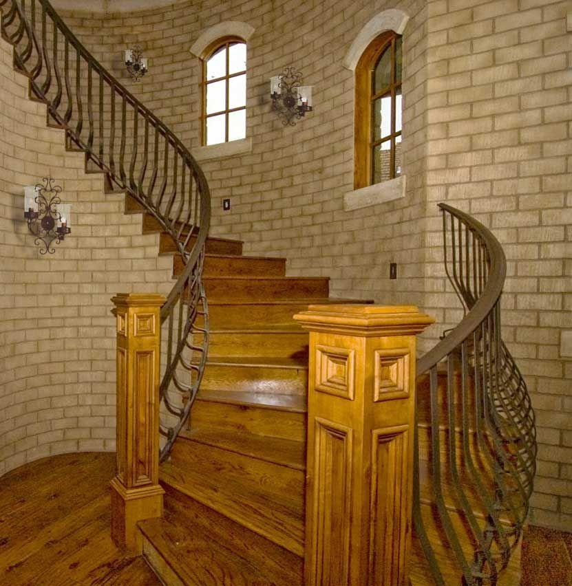 Custom Stair Railing: Wrought Iron Balconies, Balusters