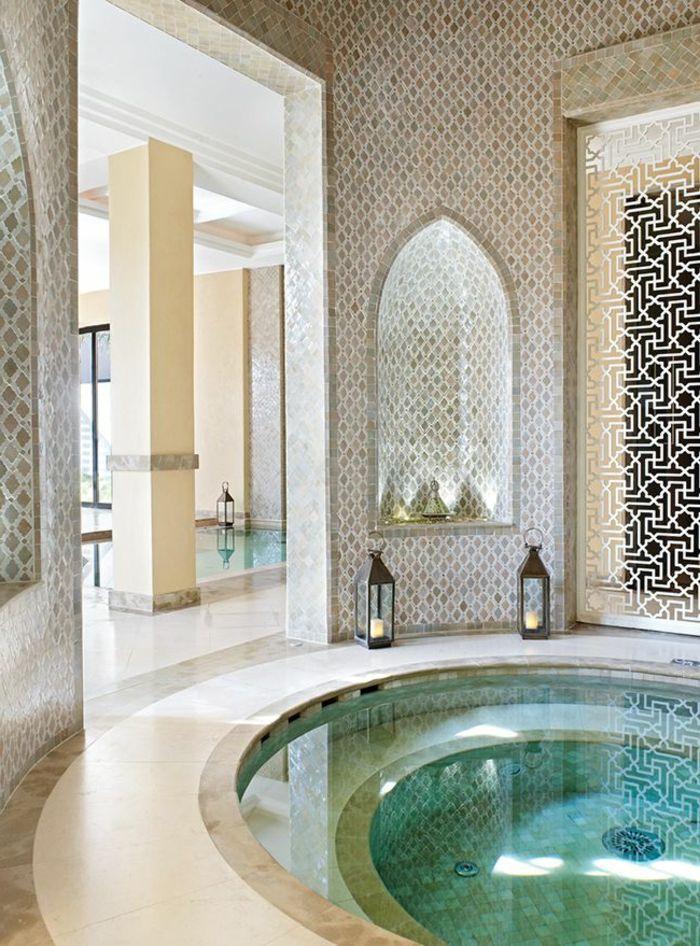 Comment aménager la salle de bain exotique - 40 idées ...