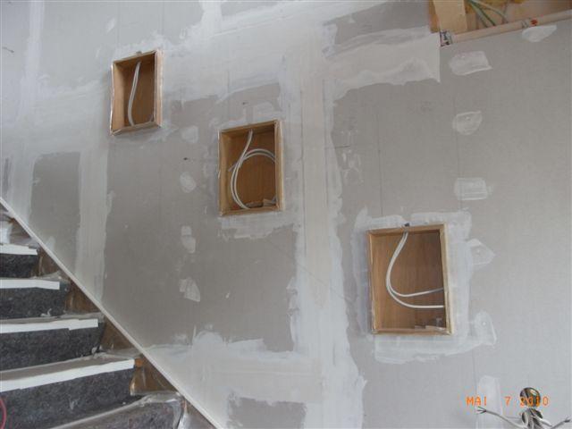Bildergebnis Fur Nische In Der Wand Wandnischen Treppe Haus Treppenaufgang