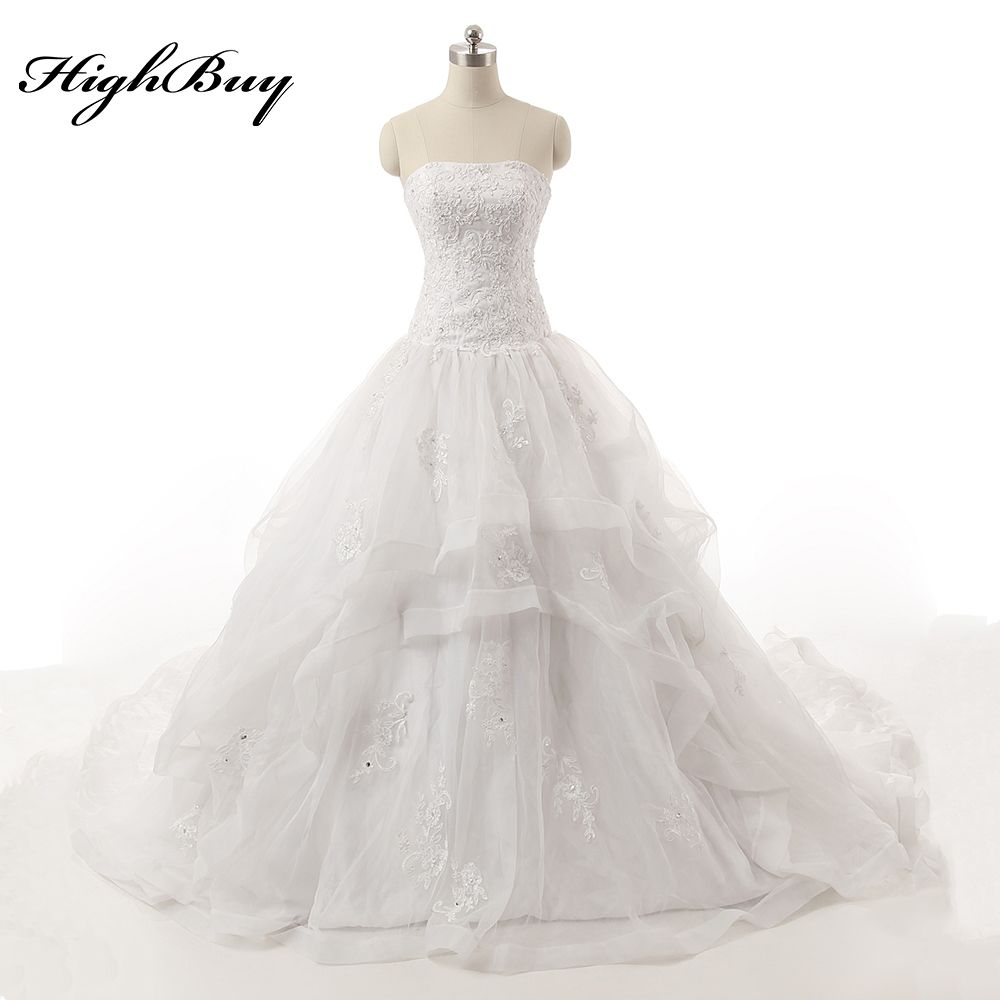 Lace dress for pregnant  Click to Buy ucuc HighBuy  Lace Elegant Plus Size Pregnant Wedding