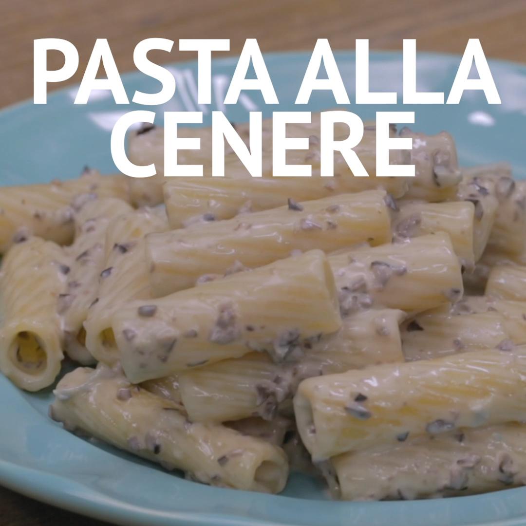 PASTA ALLA CENERE: un primo piatto cremoso, semplice da preparare e buonissimo a base di gorgonzola