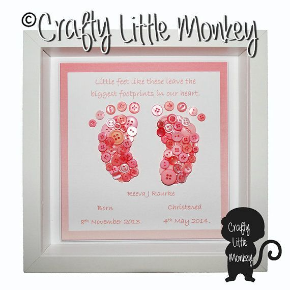 New baby gift baby girl gift baby feet sign nursery decor new baby gift baby girl gift baby feet sign nursery decor button footprint baby shower gift personalised baby gift mothers day negle Gallery