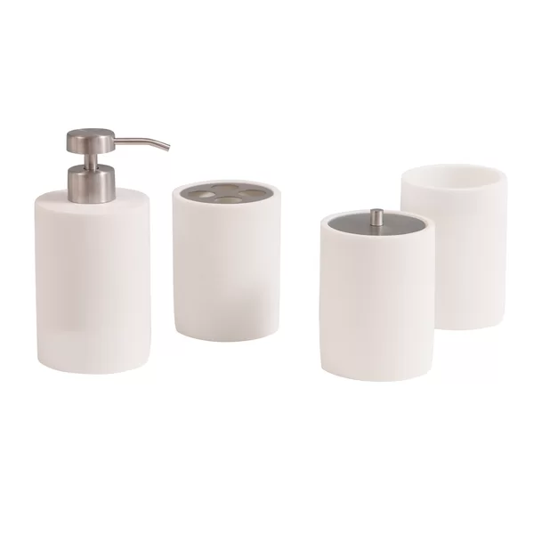 Favorites List Wayfair Ca In 2020 Bath Accessories Set Bathroom Accessories Sets White Bathroom Accessories Set