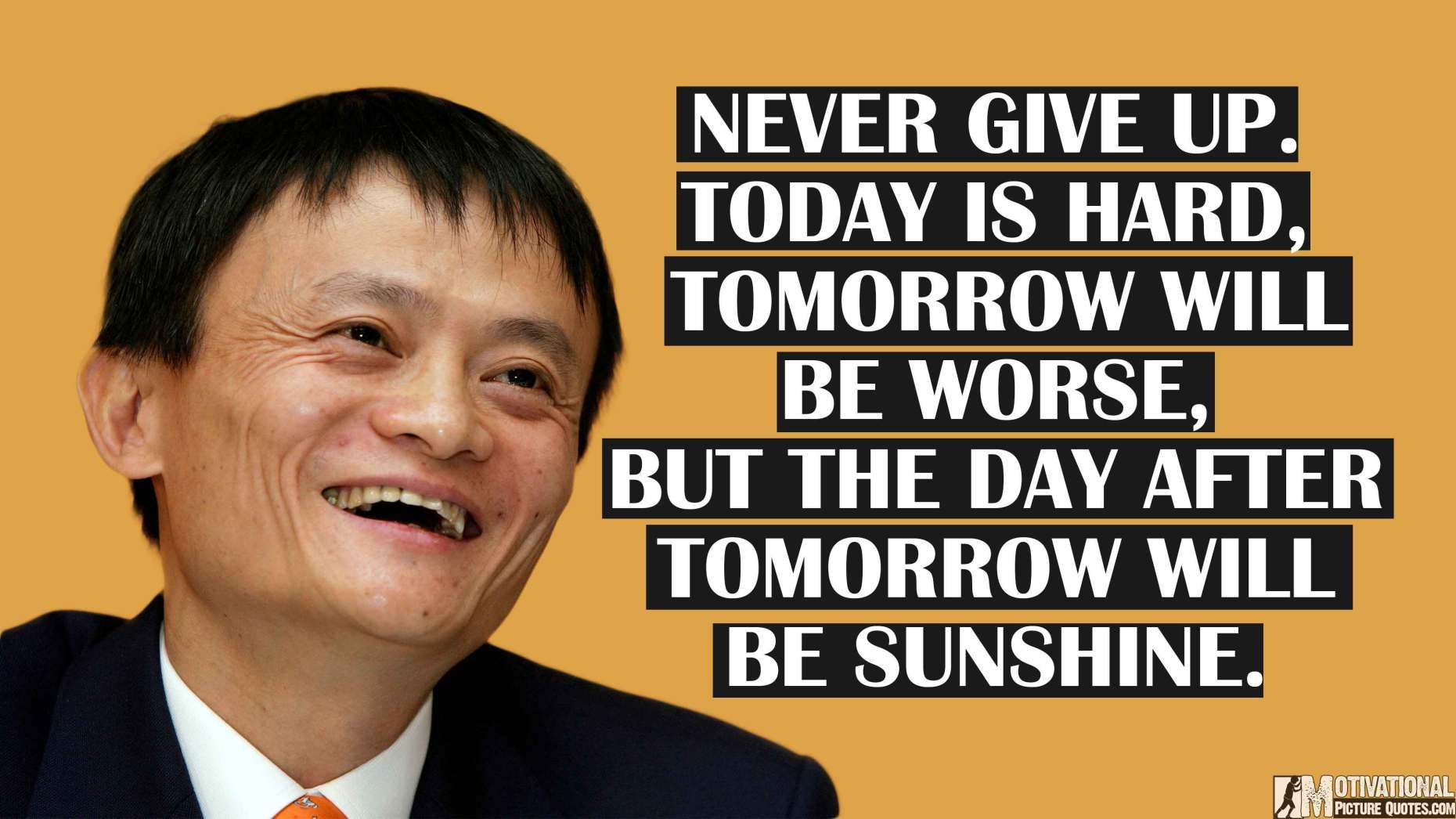 Today we see alot of motivational stories, but Jack Ma's