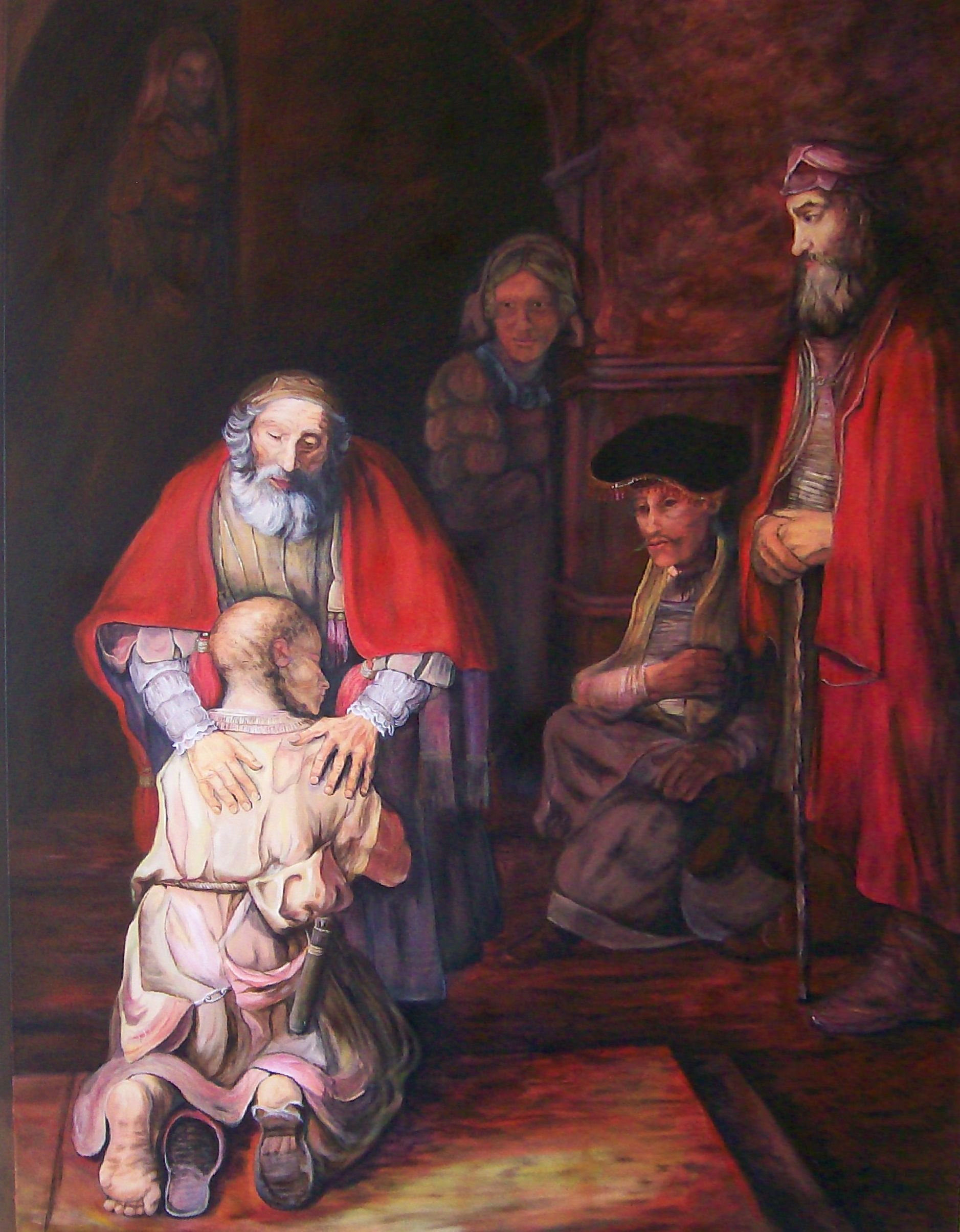 Rembrandt S Famous 17th Century Painting Of Jesus Parable