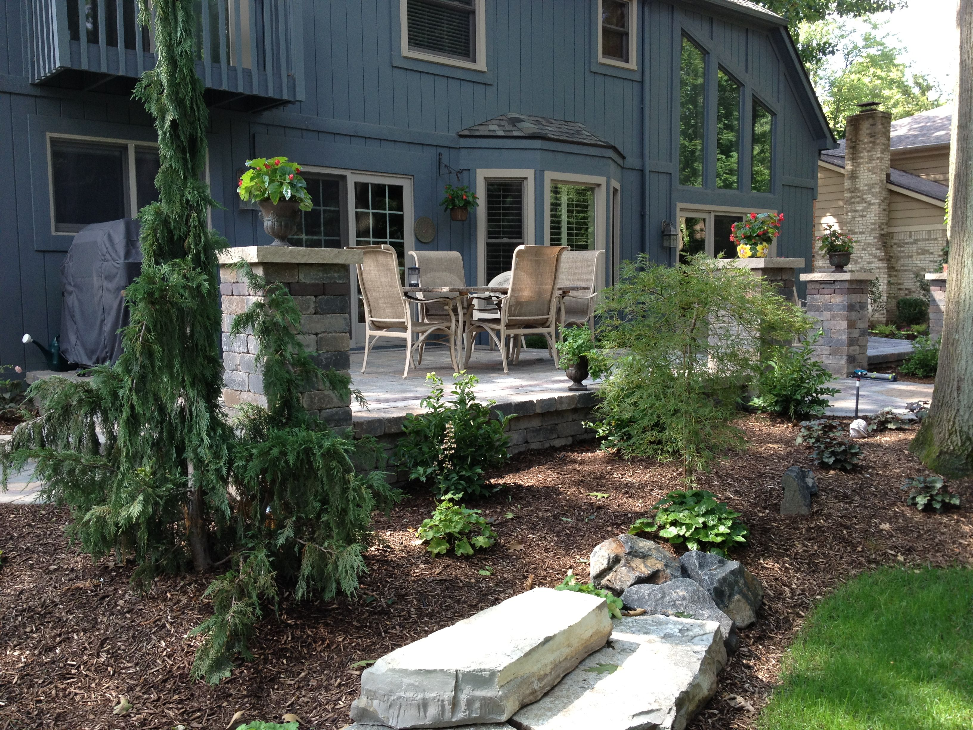 Backyard Hardscape Ideas 15 before and after backyard makeovers hgtv Find This Pin And More On Landscaping Designs Hardscape Ideas