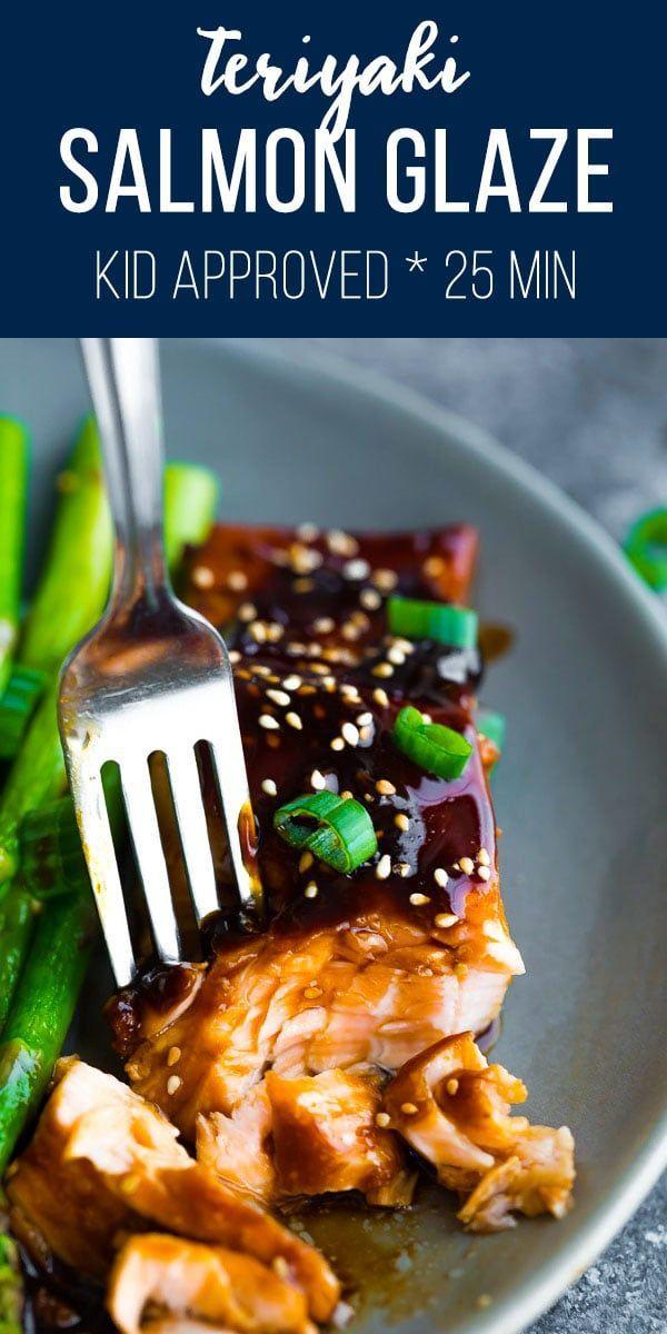 Teriyaki Salmon Glaze (25 minutes) | Sweet Peas and Saffron