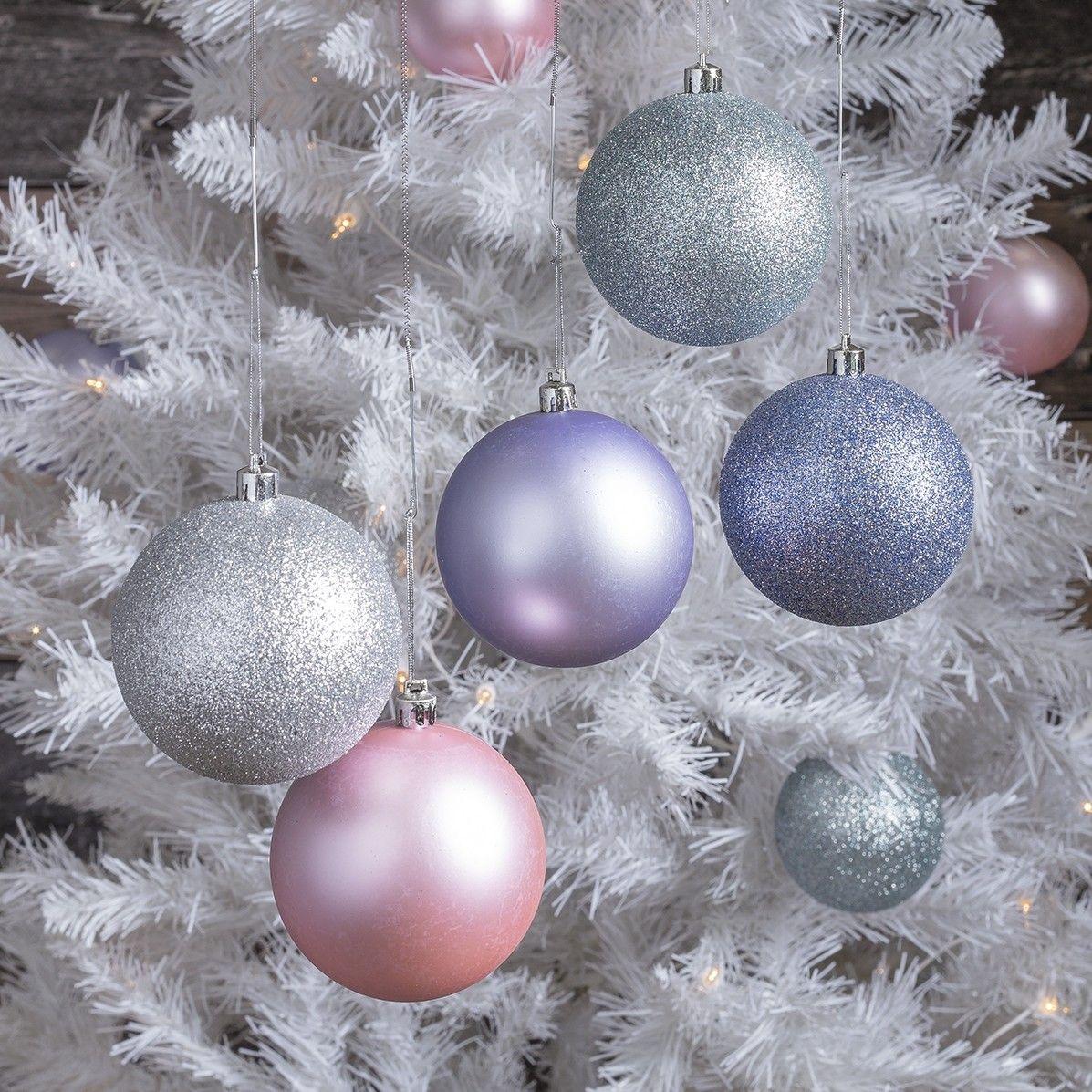 Ball Ornaments Ball Ornaments Ornament Set Sparkle Ball