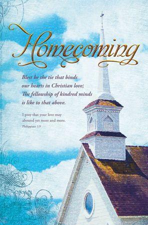 Homecoming Church Bulletin Clip Art | Apk Fun | Things I ...