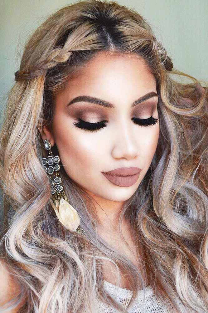 42 Romantic Hair And Makeup Ideas To Try This Valentine's