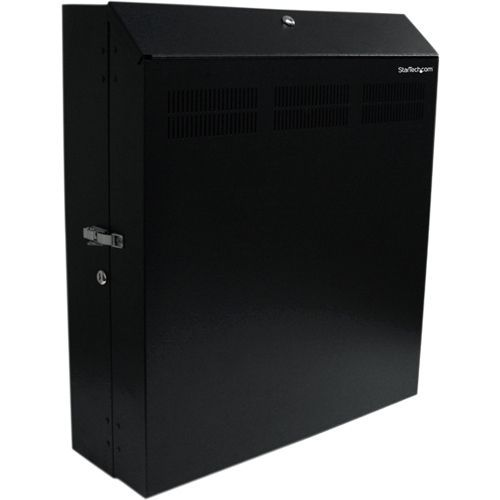 StarTech.com Wall-Mount Server Rack with Dual Fans and Lock - Vertica #RK419WALVS