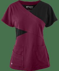 Grey's Anatomy Scrubs Signature STRETCH Color Block Top