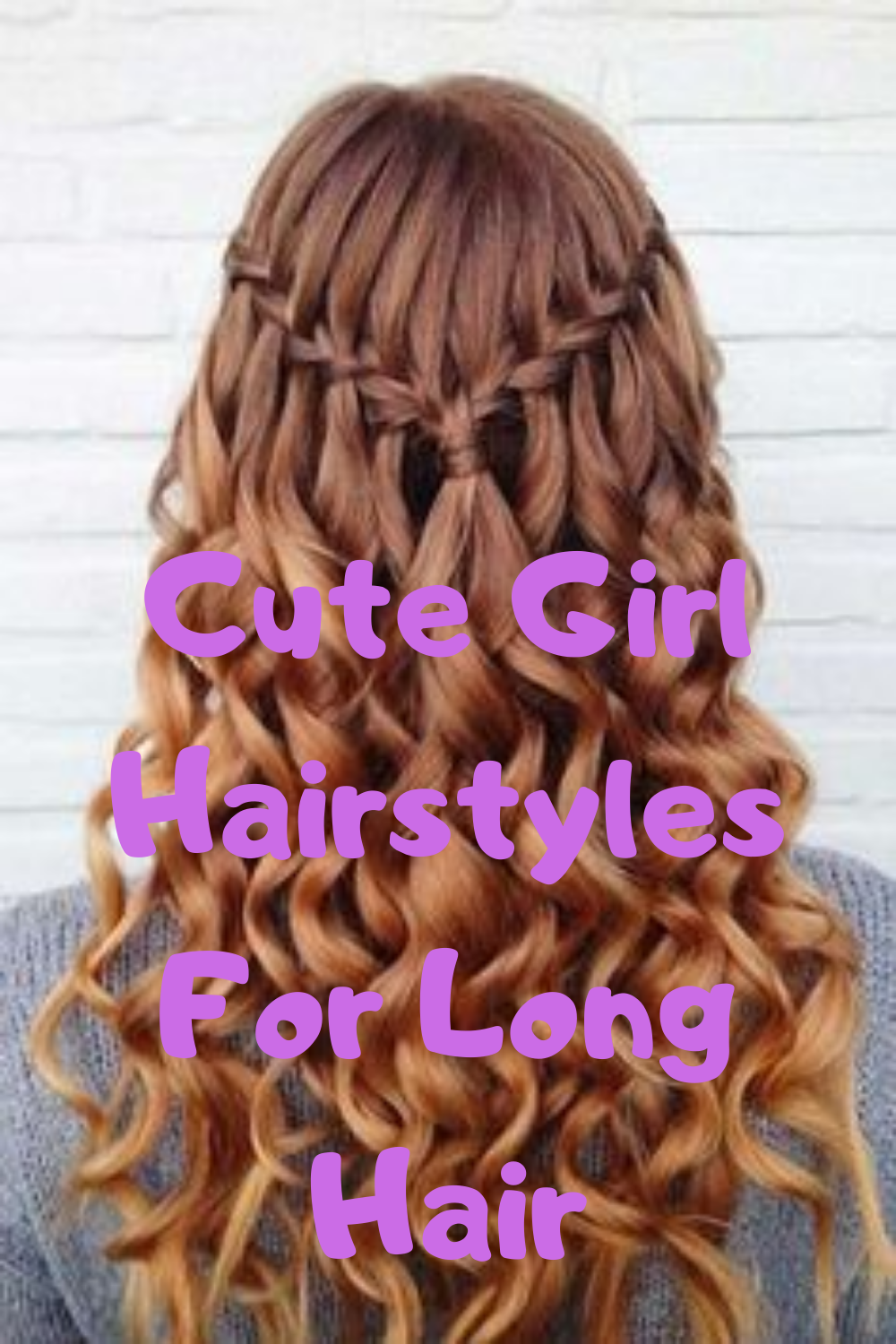 Cute Girl Hairstyle For Long Hair Old Hairstyles Hair Styles Long Hair Styles