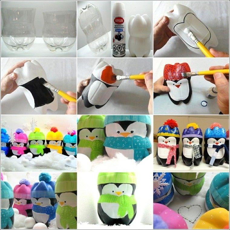 Manualidades Faciles De Hacer En Casa 50 Ideas Impresionantes In 2020 Christmas Crafts Diy Diy Penguin Crafts Cheap Christmas Diy