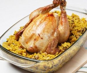 طريقة عمل دجاج محشي بالارز Recipe Food Meals Main Dishes