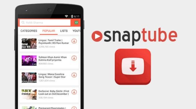 Snaptube Download Hd Apps Android