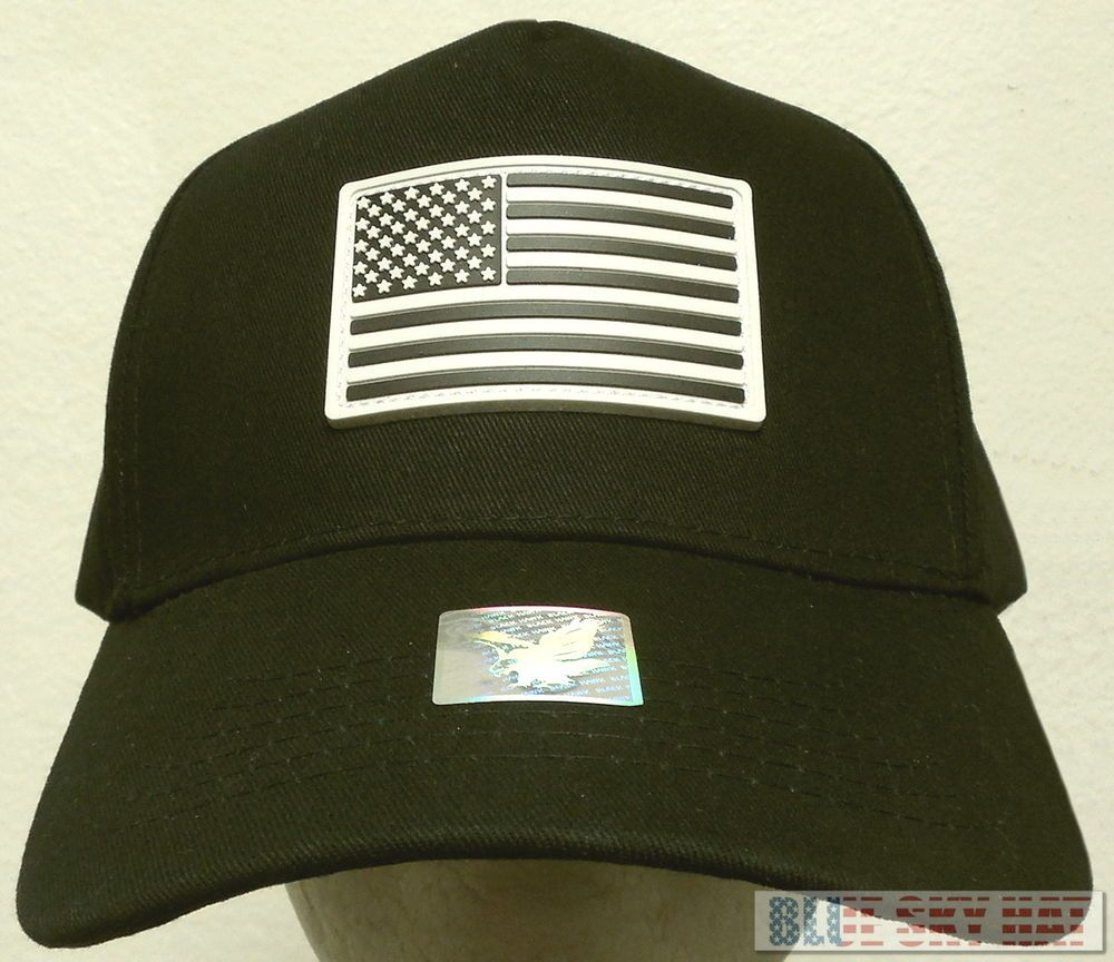 RUBBER PATCH TACTICAL MILITARY SPECIAL FORCES OPERATOR AMERICA USA FLAG CAP  HAT  FINEPREMIUMQUALITYHATS  5Panel e6b603460e0