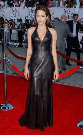 I love this leather dress