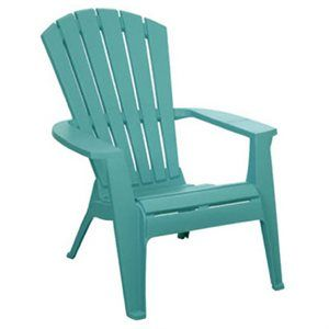 Adirondack Chair Turquoise Resin At True Value With Images