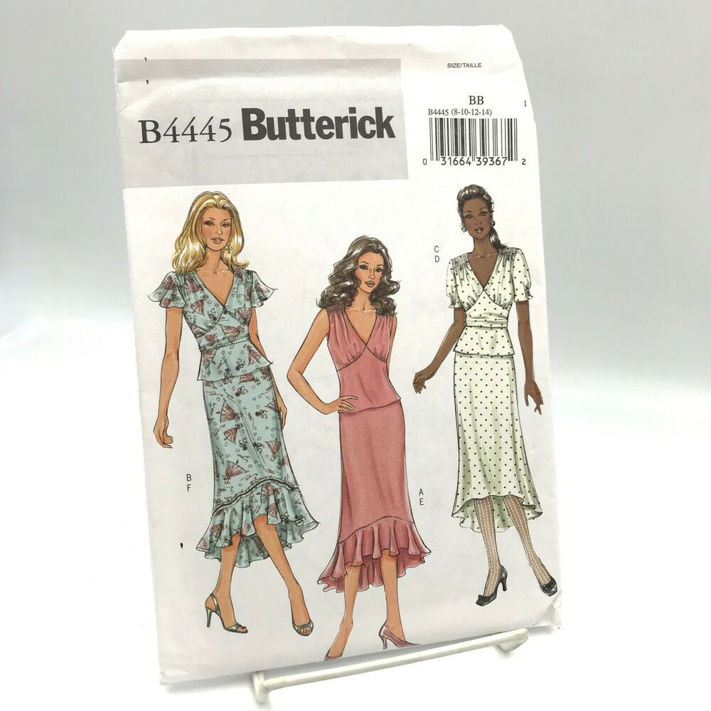 Size 6-14 Simplicity 1346 Womens Skirt Costume Sewing Patterns