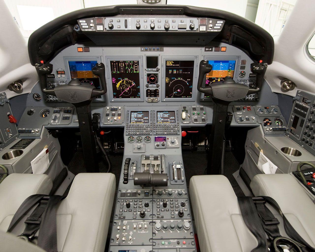 Cessna Citation XLS+ Cabinas