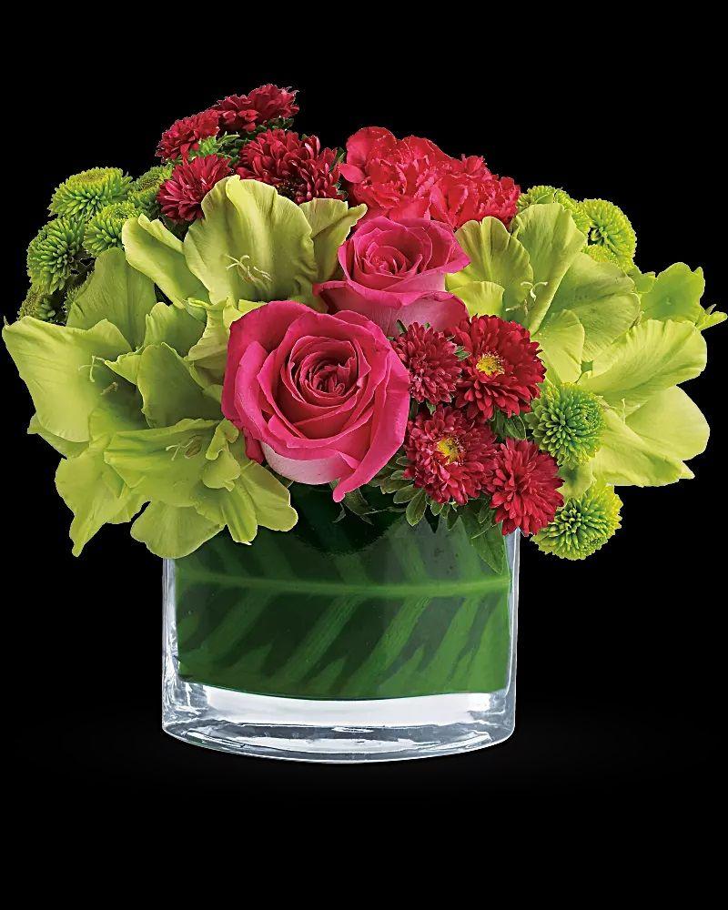 flower arrangement: teleflora's beauty secretteleflora