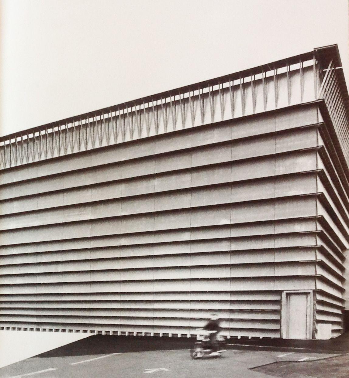 Garage Laufen: Genericarchitecture: Ricola Warehouse Building Herzog De