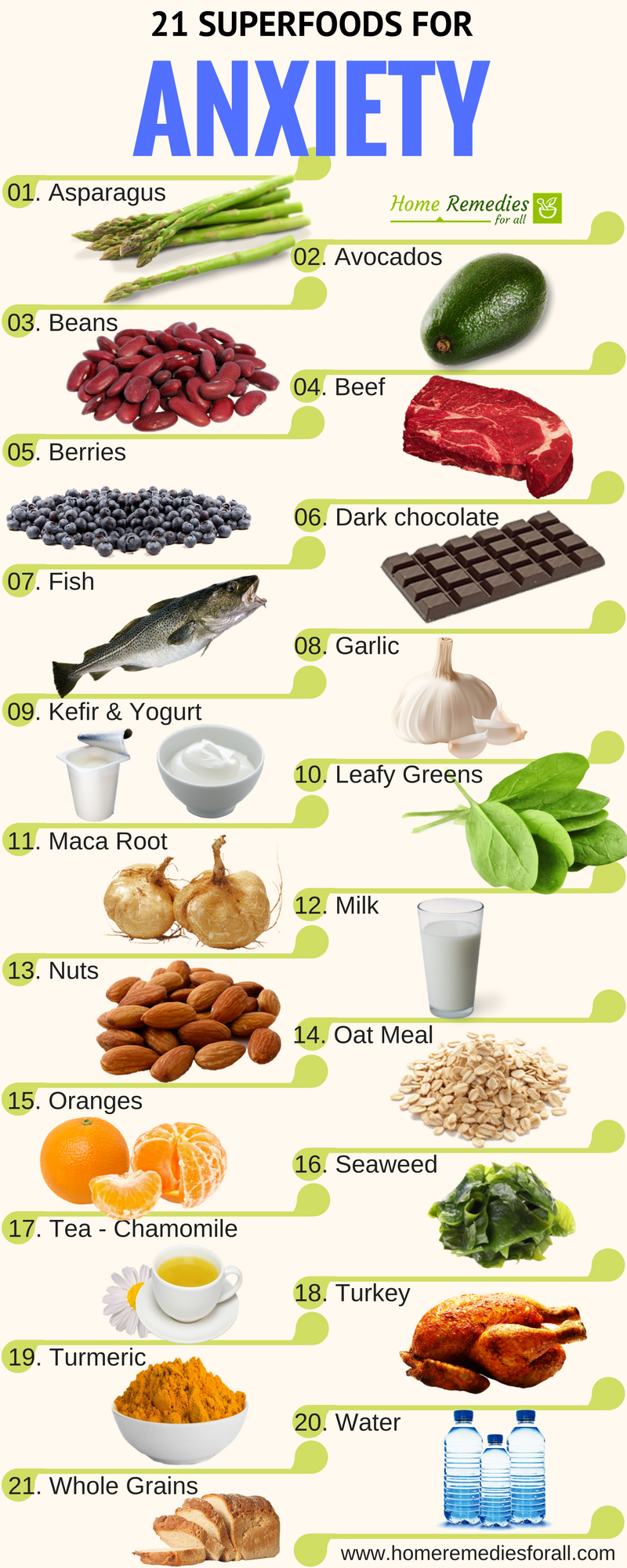reduce your anxiety and stress with these 21 superfoods | body